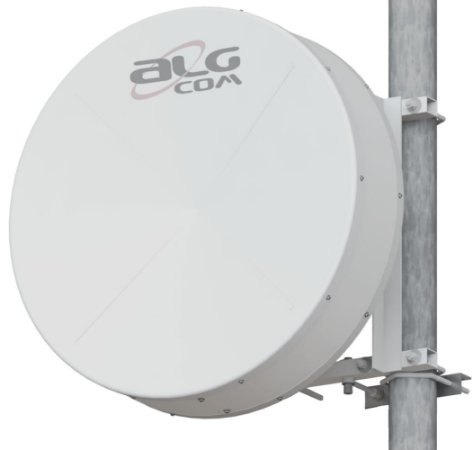 Kit Enlace ALGcom Ponto-a-Ponto 5.8 - Blindada com Radome Shield 0.9 - 32dBi