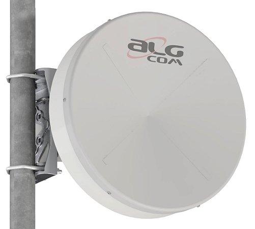 Kit ALGcom Ponto-a-Ponto 5.8 - Blindada com Radome Shield 0.3 - 22dBi