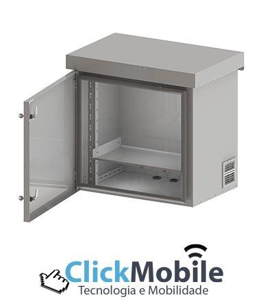 Gabinete ALGcom Outdoor Standard Aço 10U