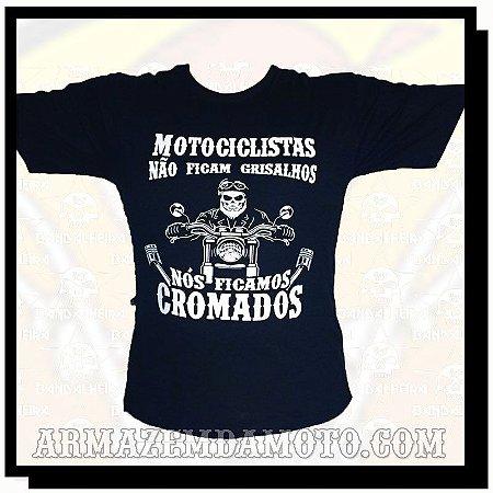 CAMISETA FICAMOS CROMADOS