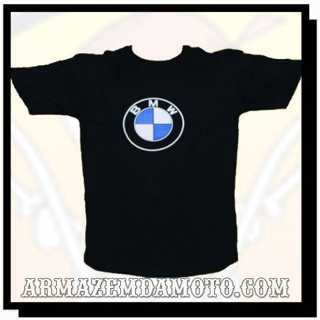 CAMISETA BMW LOGO