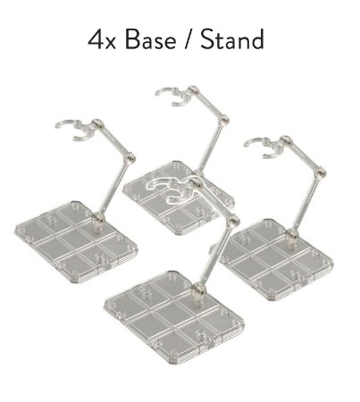 4x Base Stand Act Action Figure Suporte Sh Figuarts Figma