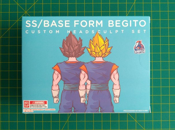 Demoniacal Fit Set Head Vegetto Dragon Ball Z Super Saiyajin & Forma Base