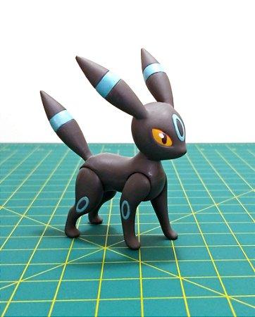 Umbreon Shiny TOMY Action Pose Custom Figure 7,3 cm
