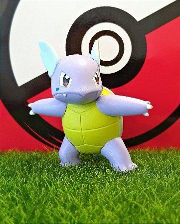 Wartortle Pokémon Figure TOMY Action Pose 6,3 cm Original