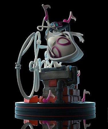 Spider-Gwen Spider-man Q-Fig Quantum Mechanix 12 cm Spiderverse