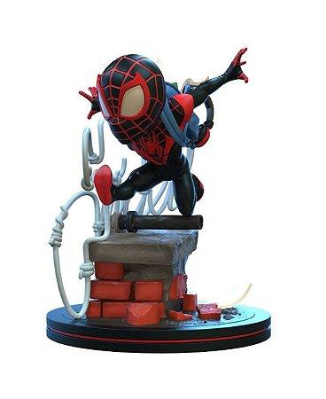 Miles Morales Spider-Man Q-Fig Quantum Mechanix 11 cm Spiderverse