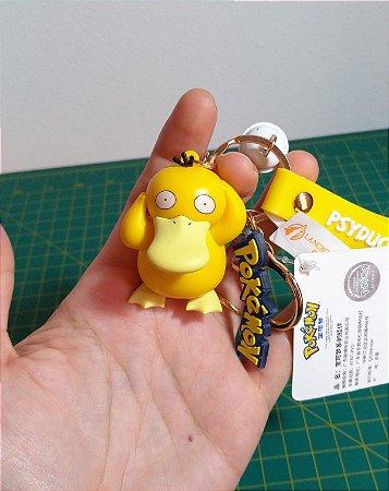 Psyduck 5,3 cm Pokémon Figure Keychain Chaveiro