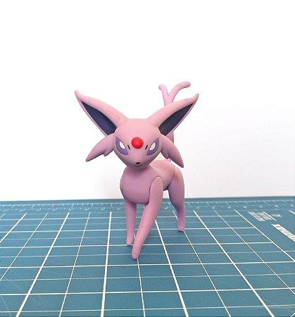 Espeon Pokémon Figure Tomy Action Pose 7,3 cm