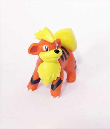 Growlithe Pokémon WCT Figure Scale (4,3 cm)
