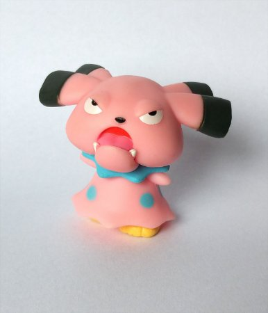 Snubbull Pokémon WCT Figure (3,6 cm)