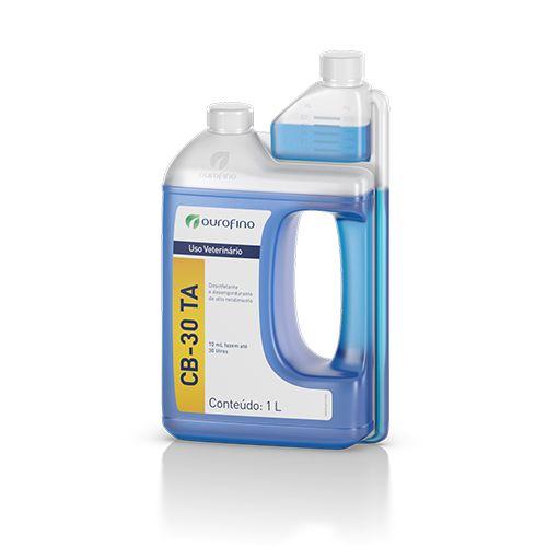 Desinfetante Desengordurante Bactericida Forte Ouro Fino Cb-30 1l