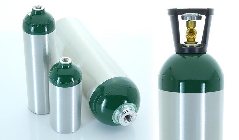 Cilindro de Alumínio de Oxigênio 4,6 Litros Modelo ME
