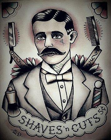 Quadro Decorativos Barbearia