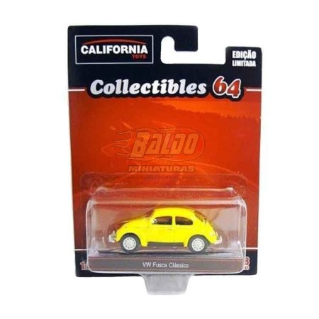California Toys - Collectibles 64 - VW Fusca Clássico