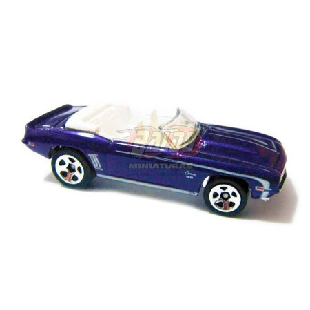 Hot Wheels - 69 Camaro Convertible - 2006 - (loose)
