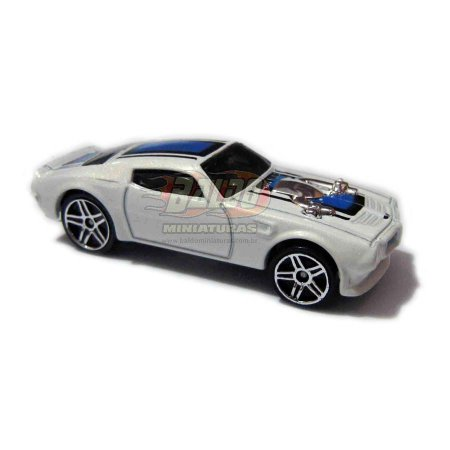 Hot Wheels - 70 Pontiac Firebird - 2007 - Branco - Sem cartela (loose)