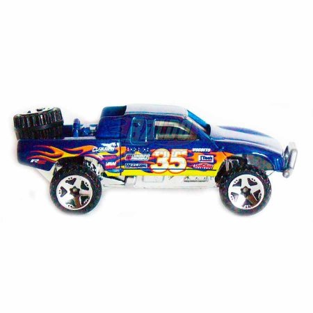 Hot Wheels - Toyota Off Road - 2008 - Pickup Azul - Sem cartela (loose)
