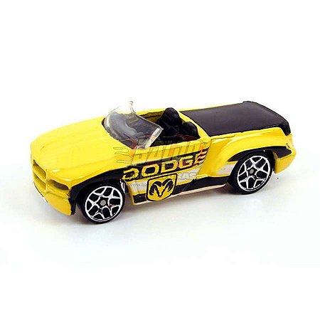 Hot Wheels - Dodge Sidewinder - 2007 - Pickup Amarela - Sem cartela (loose)