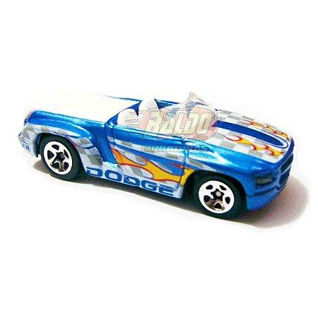 Hot Wheels - Dodge Sidewinder - 2007 - Pickup Azul - Sem cartela (loose)