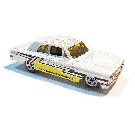 Hot Wheels - Ford Thunderbolt - 2007 - Branco - Sem cartela (loose)