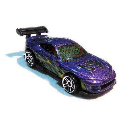Hot Wheels - Super Tsunami - 2007 - Roxo - Sem cartela (loose)