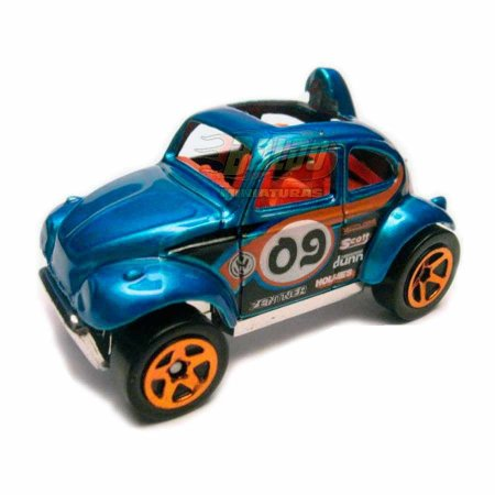 Hot Wheels - Baja Bug - 2009 - Azul - Sem cartela (loose)