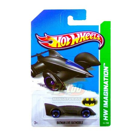 Hot Wheels - Batman Live Batmobile