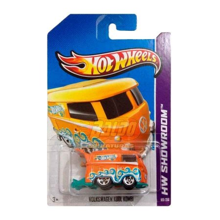Hot Wheels - Volkswagen Kool Kombi - VW Laranja
