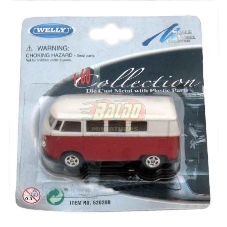 Welly - Collection - Volkswagen Microbus 1962 - VW Kombi