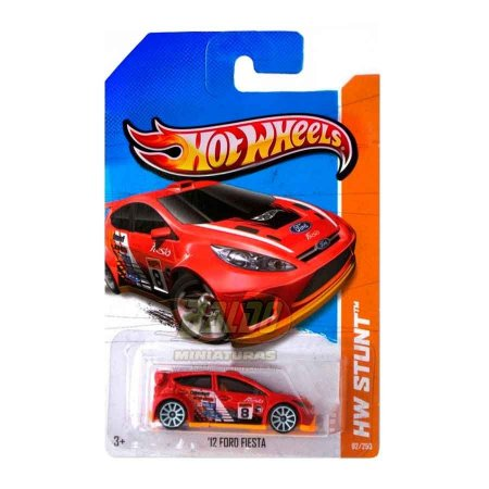 Hot Wheels - Treasure Hunts 2013 - 12 Ford Fiesta - Road Rally