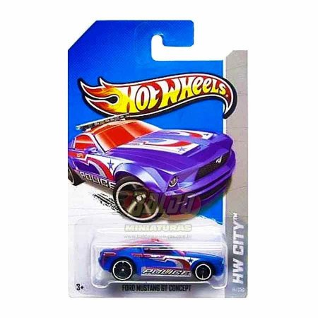 Hot Wheels - Treasure Hunts 2013 - Ford Mustang GT Concept