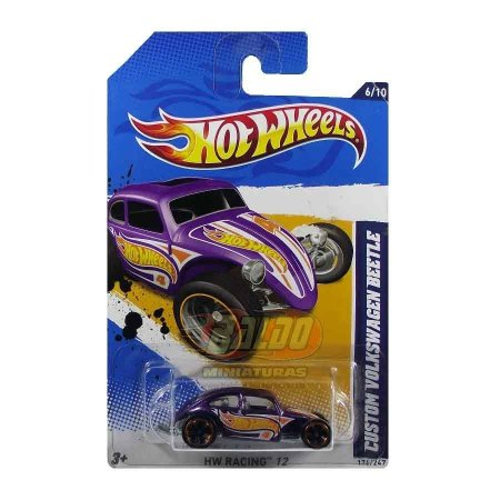 Hot Wheels - Custom Volkswagen Beetle - VW Fusca