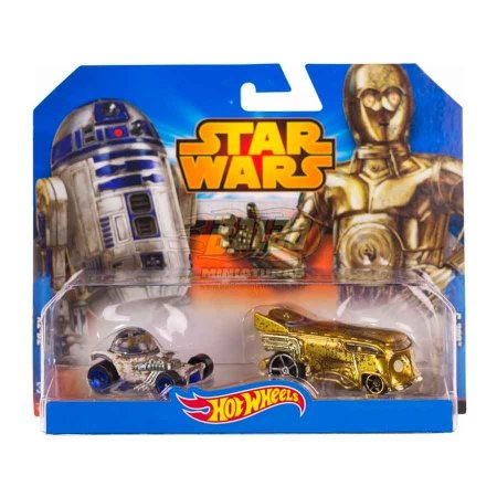 Hot Wheels - STAR WARS - R2-D2 & C-3PO