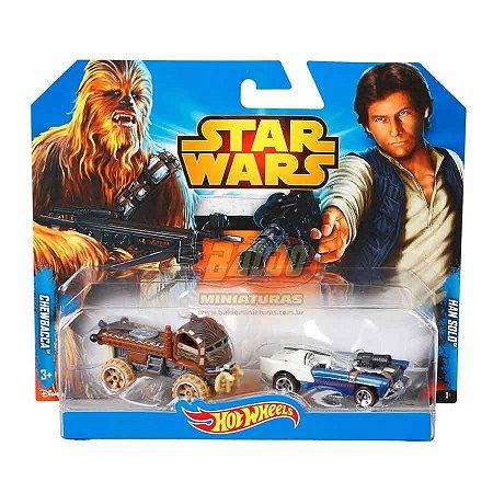 Hot Wheels - STAR WARS - Chewbacca & Han Solo