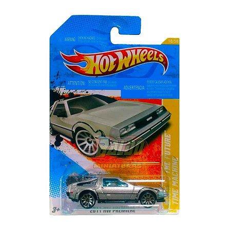 Hot Wheels - De volta para o futuro - Maquina do tempo (Back to the future - Time Machine)