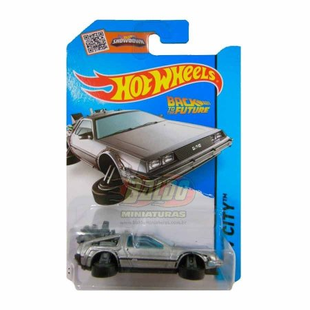 Hot Wheels - De volta para o futuro (Back to the Future) - Maquina do tempo (Time Machine Hover Mode)