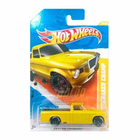 Hot Wheels - 63 Studerbaker Champ (Pickup Amarelo)