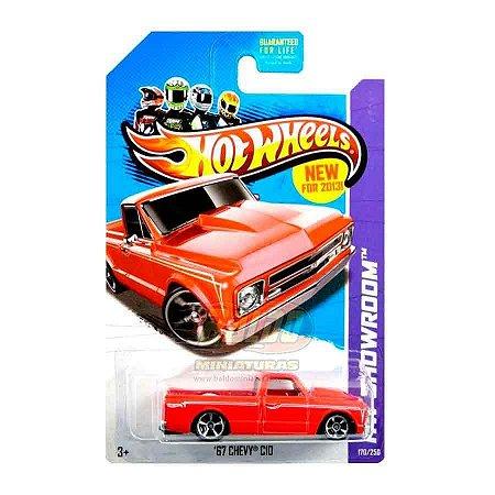 Hot Wheels - 67 Chevy C10 (Pickup Vermelha)