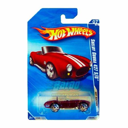 Hot Wheels - Shelby Cobra 427  S/C (Vinho)