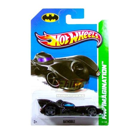 Hot Wheels -  Batmobile 1989