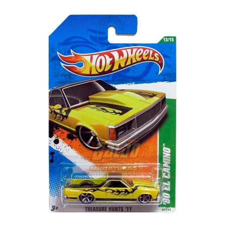 Hot Wheels - Treasure Hunts 2011 - 80 El Camino