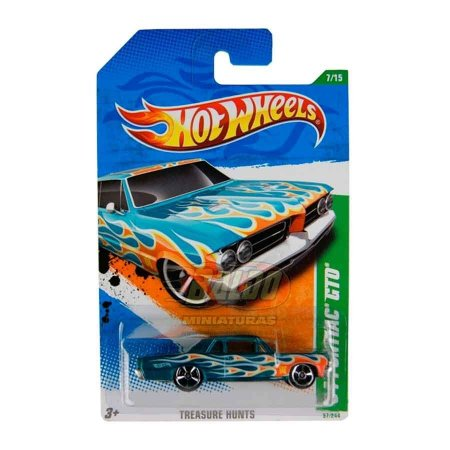 Hot Wheels - Treasure Hunts 2011 - 64 Pontiac GTO