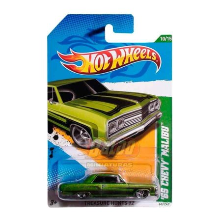 Hot Wheels - Treasure Hunts 2012 - 65 Chevy Malibu
