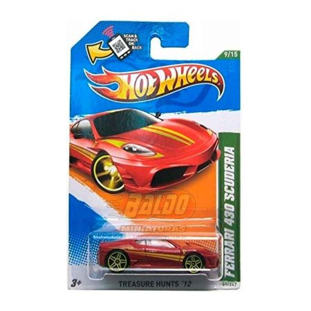 Hot Wheels - Treasure Hunts 2012 - Ferrari 430 Scuderia