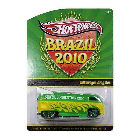Hot Wheels - Volkswagem Drag Bus - 3ª Convenção Nacional de Colecionadores do Brasil 2010