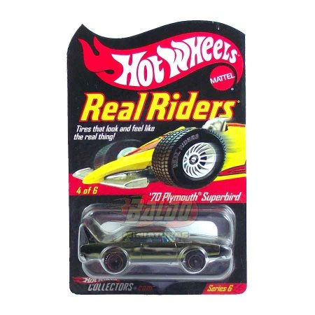 Hot Wheels - 70 Plymouth Superbird - Real Riders Series 6