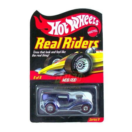 Hot Wheels - Mob Rod - Real Riders Series 9
