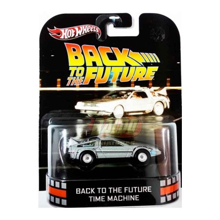 Hot Wheels - Back To The Future Time Machine - De volta para o Futuro - Retro Entertainment 2013