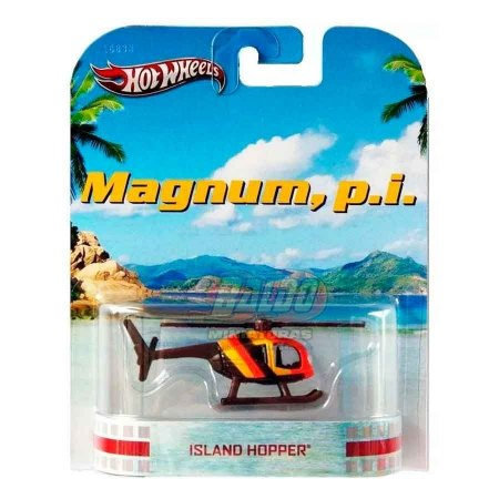 Hot Wheels - Island Hopper - Magnum P.I. (Helicoptero)  - Retro Entertainment 2013